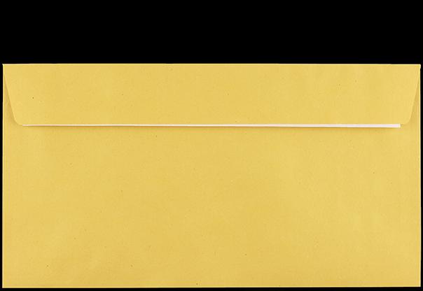 Postzustellungsumschlag Kompakt Rückseite geschlossen