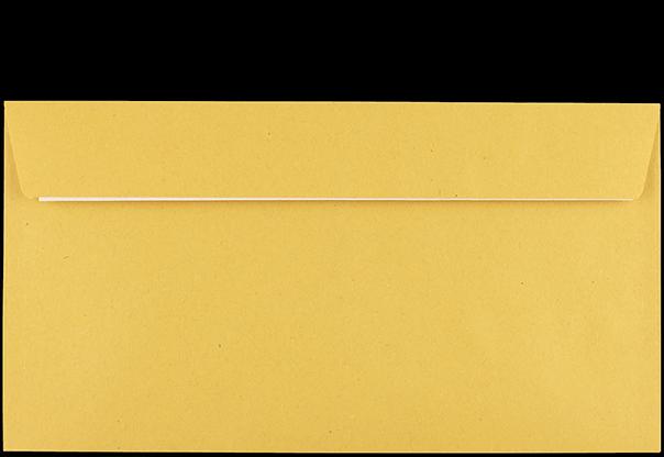 Postzustellungsumschlag Kompakt mit Fenster Rückseite geschlossen
