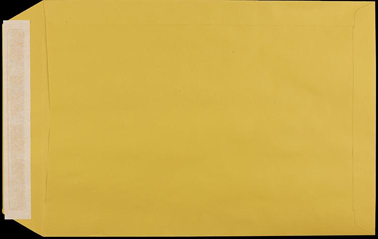 """Zustellungsumschlag B4 ohne Zusatzdruck """"Deutsche Post"""" Rückseite offen"""
