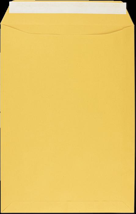 Zustellungsumschlag C4 mit Haftklebung, Rückseite offen